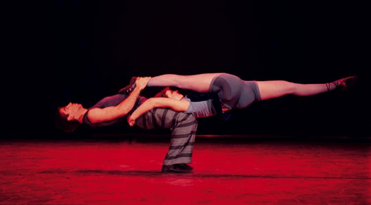 Tango acrobatique